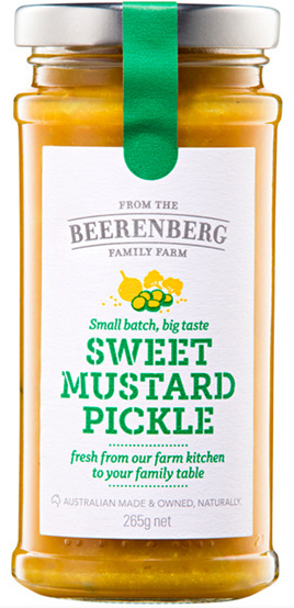Sweet Mustard Pickle - 265g