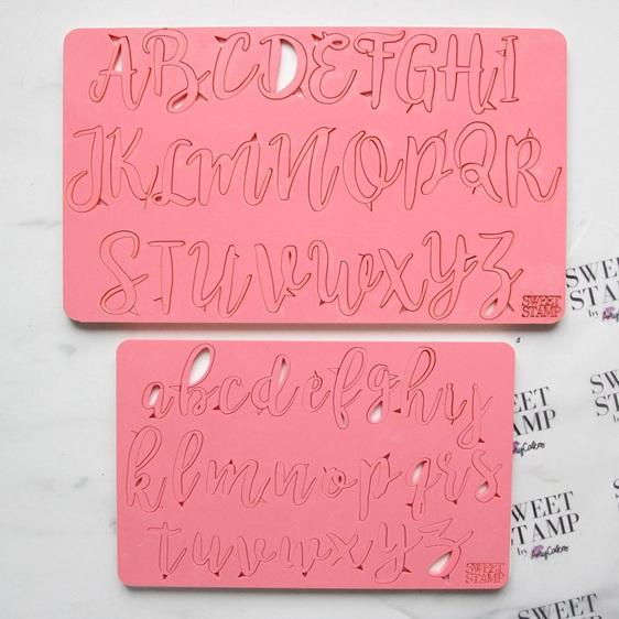 Sweet Stamp - Stylish Lower/UpperCase Set