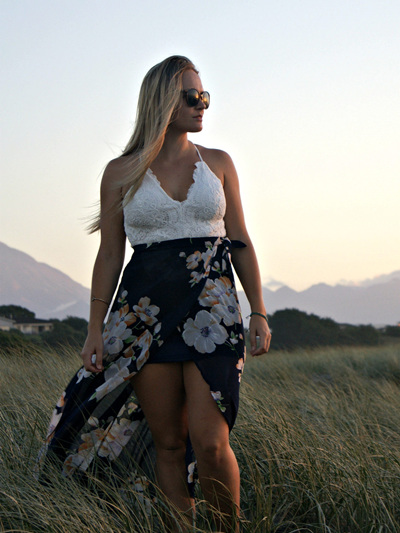 Sweet Sunset Maxi Dress
