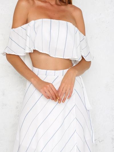 Sweetness Skirt & Crop Top
