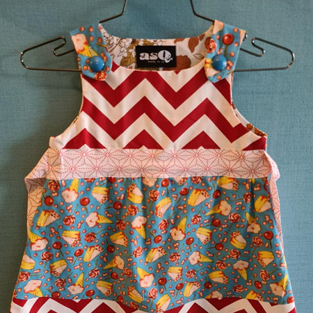 Sweets Pinny Dress - Size 5