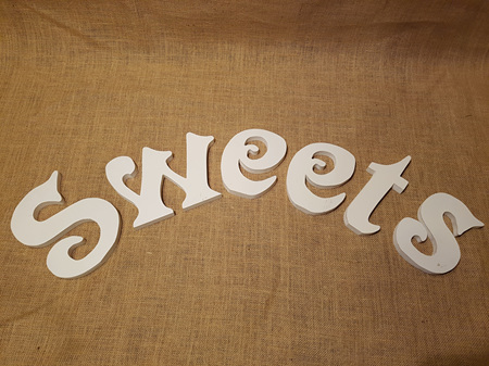 'SWEETS' sign