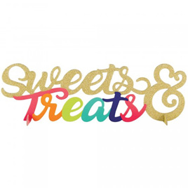 Sweets & treats centrepiece