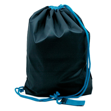 swim pouch | navy/turquoise