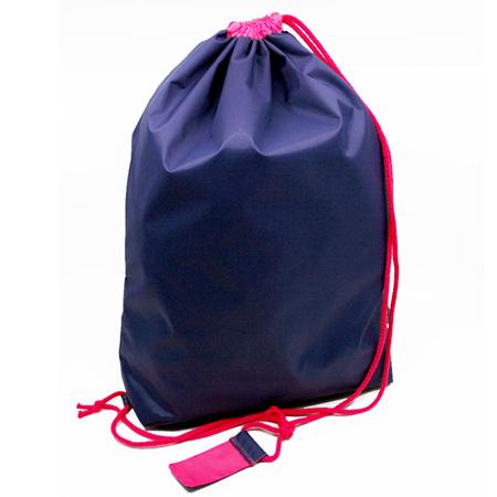 swim pouch | purple/bright pink