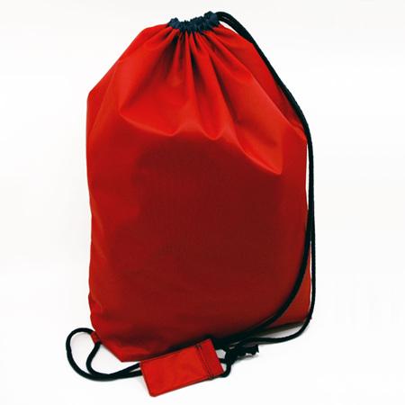 swim pouch | red/navy