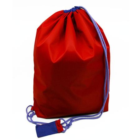 swim pouch | red/purple