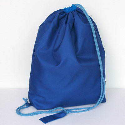swim pouch | royal/bright blue