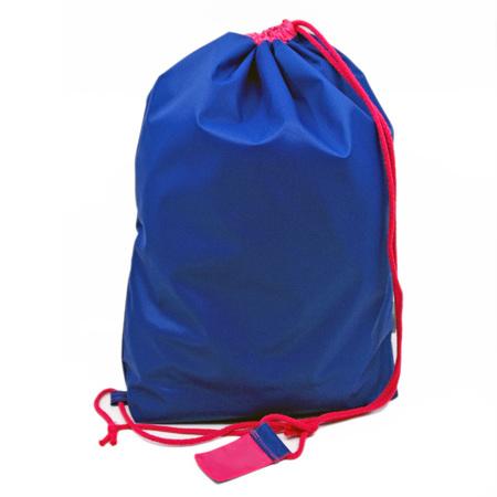 swim pouch | royal/bright pink