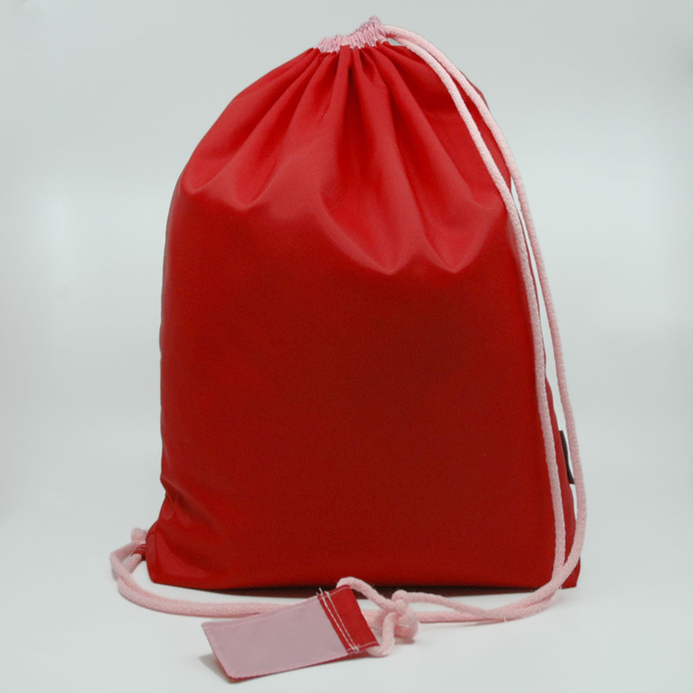 swim pouch waterproof gear bag red and pink