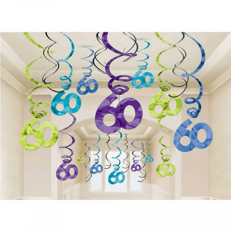 Swirl value pack - 60th birthday