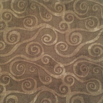 Swirly Scroll - Dark Grey