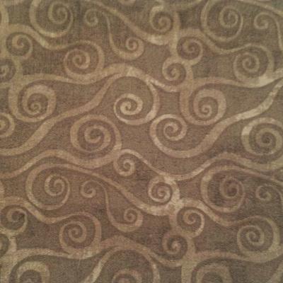 Swirly Scroll - Dark Grey