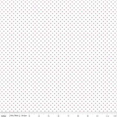 Swiss Dots Hot Pink C660-70