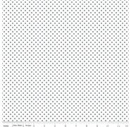 Swiss Dots Navy on White C660n