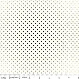 Swiss Dots White C660