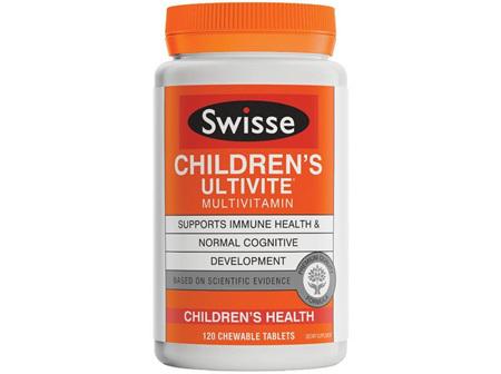 SWISSE Childrens Ultivite 120tabs