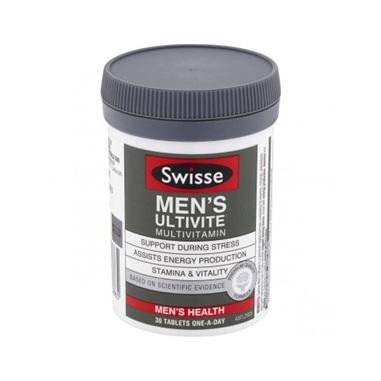 SWISSE Mens Ultivite 30Tab