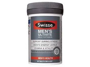 Swisse Men's Ultivite 60tabs
