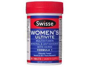 Swisse Woman's Ultivite 60tabs
