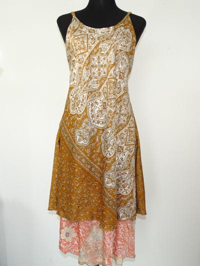 Swit-Chit Dress - Ginger spice