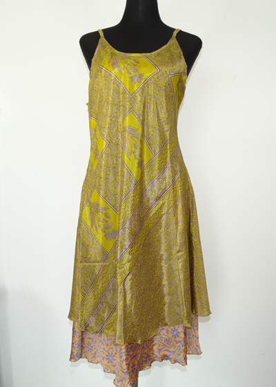 Swit-Chit Dress - Golden delight