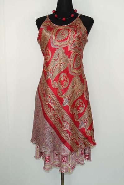 Swit-Chit Dress - Hot chilli