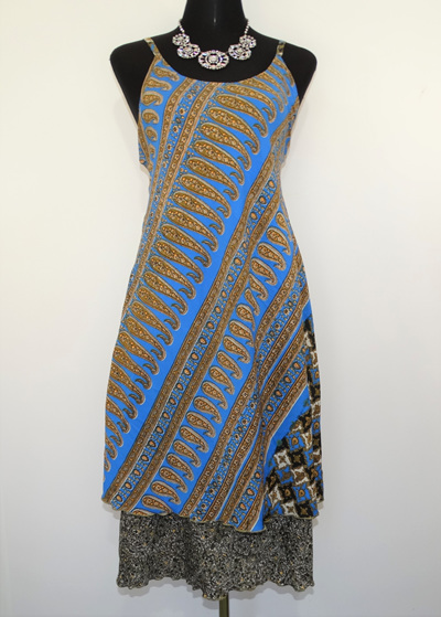Swit-Chit Dress - Santorini