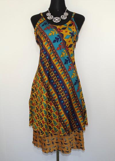 Swit-Chit Dress - Topaz