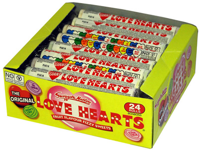 Swizzels Giant Love Hearts