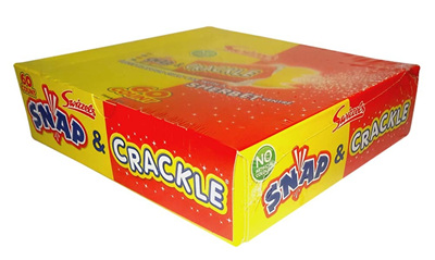 Swizzels Snap & Crackle Bars