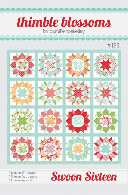 Swoon Sixteen Quilt Pattern