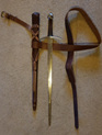 Sword 1 - Generic Functional Medieval Sword with Scabbard