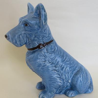 Sylvac blue dog