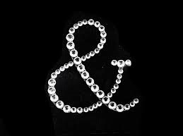 '&' symbol rhinestone