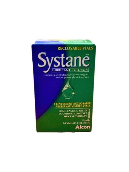 Systance Lubricating Eye Drops 0.4ML 24 Vials