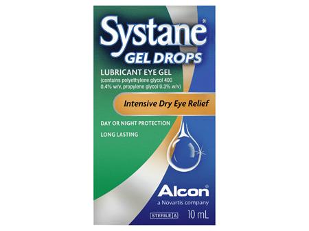 Systane Lubricant Eye Gel Drops 10mL