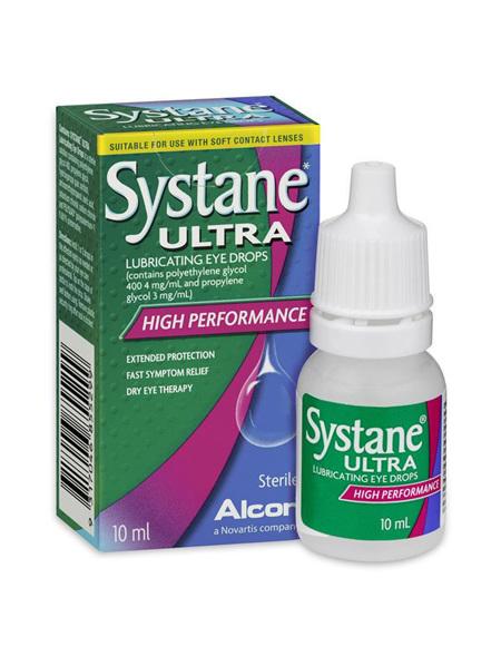 SYSTANE ULTRA LUBRICANT EYE DROPS 10ML