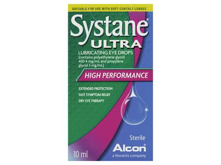 Systane Ultra Lubricating Eye Drops 10mL
