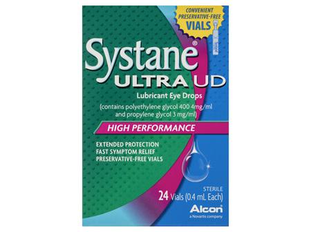 Systane Ultra UD Lubricant Eye Drops 24 x 0.4mL