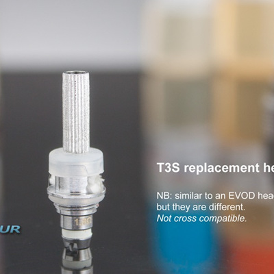 T3S Replacement Heads - 5 Pack