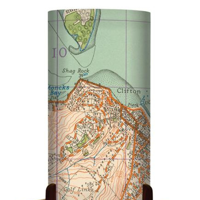 Table Lamp Map of Christchurch