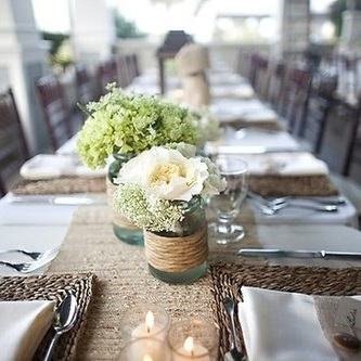 Table Runner - Hessian