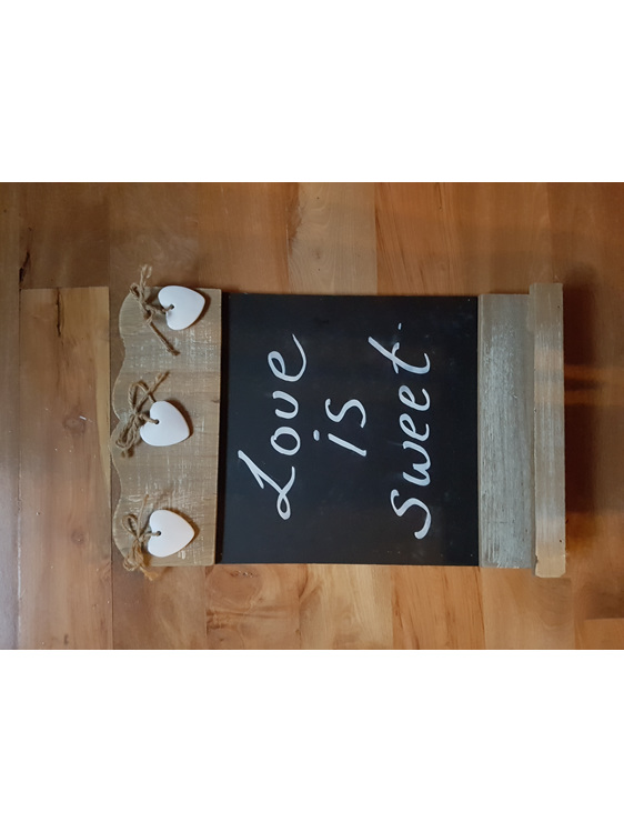 Table signs wedding and event hire
