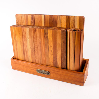 Tablemat Set in Wooden Box 2