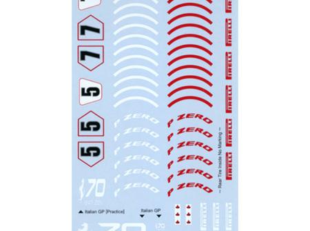 Tabu 1/20 Ferrari SF70H Option Decals (TAB20151)