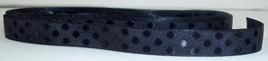 Taffeta Self-Dot Ribbon x 5 Metres: Black