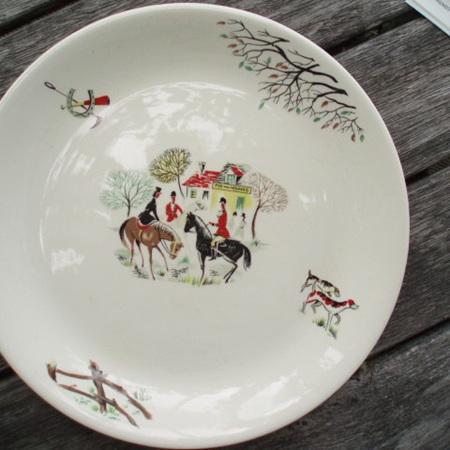Tally Ho plate