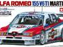 Tamiya 1/24 Alfa Romeo 155 V6 TI Martini Race Car