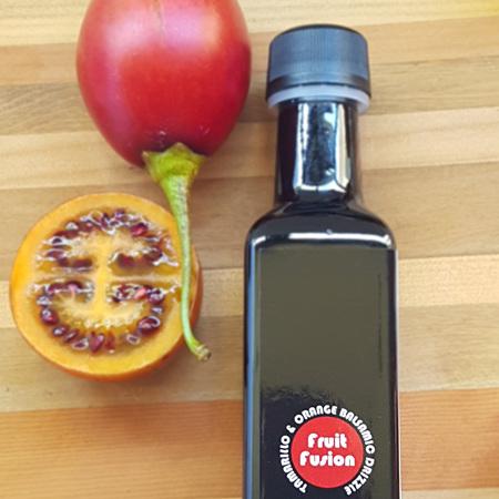 Tamarillo and Orange Balsamic Drizzle